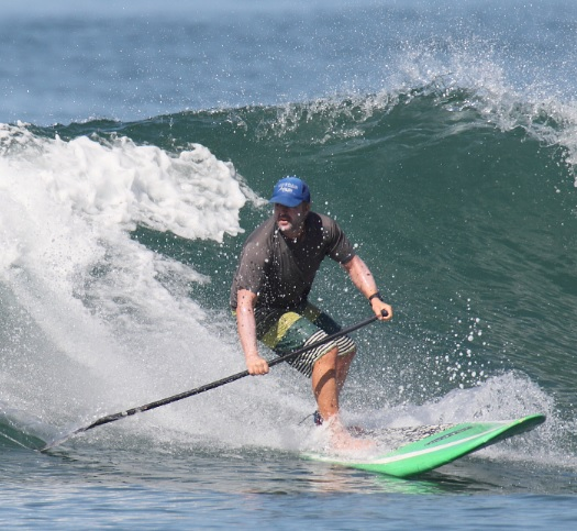 Tim Sup Surfing like a Champ